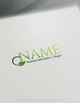 Leaf Online Logo Template