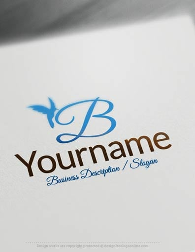00684-Bird-Alphabet-design-free-logos-online2