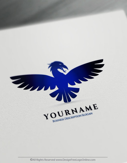 Fire Phoenix Blue Phoenix Logo Makin Done Online With Logo Designer