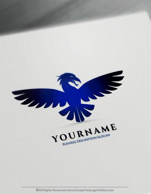 Fire Phoenix Blue Phoenix Logo Makin Done Online With Logo Designer