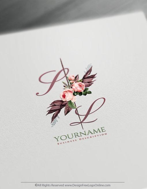 Vintage Roses Logo Templates