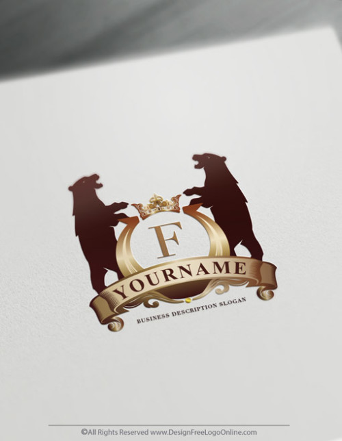 Vintage Bears Logo Design Template