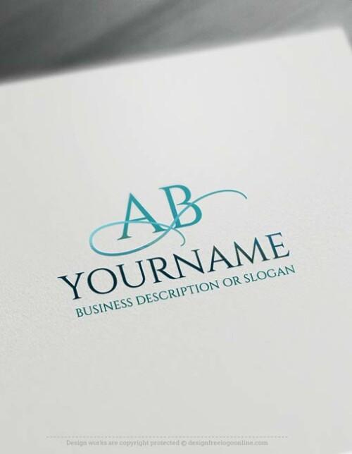 Free Logo Maker - Initials ABC Logo Templates