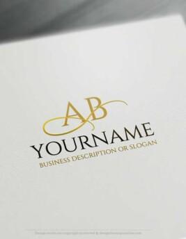 Create a logo Free - Free Logo Maker - Initials ABC Logo Templates