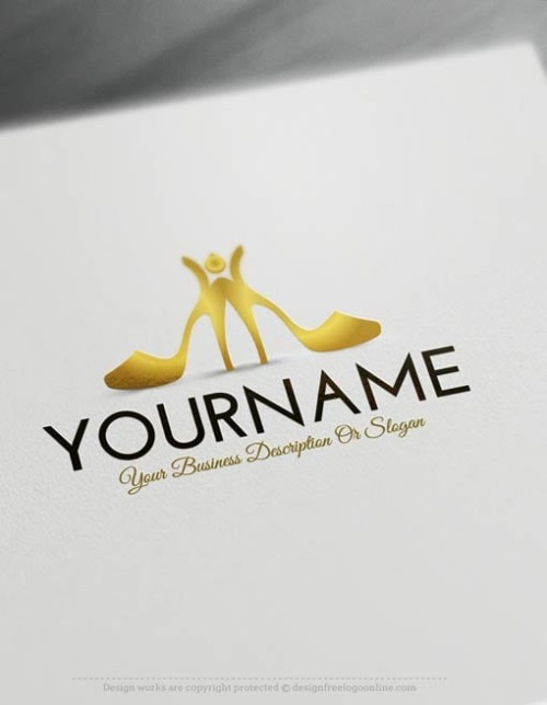 Free-Logo-Maker-Shoes-Logo-Templates