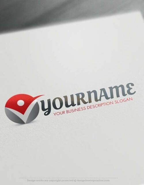 Free-Logo-Maker-V-mark-Logo-Templates