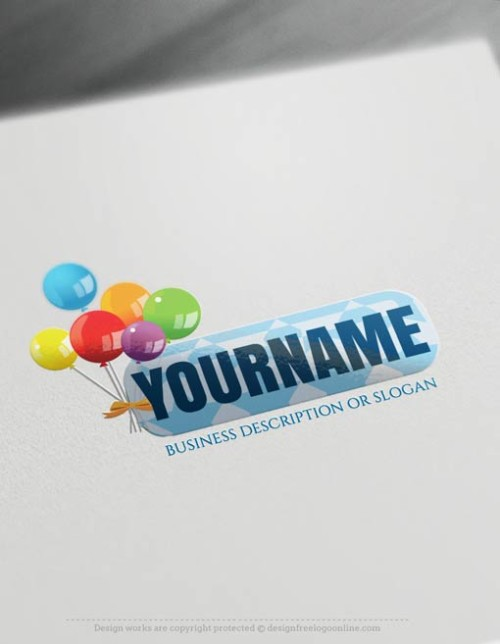 Free-logomaker-Birthday-candy-Logo-Templates