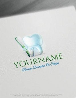 Free-logomaker-dental-Logo-Templates