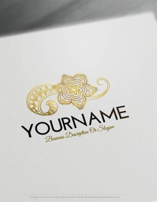 Free-logomaker-flower-Logo-Templates