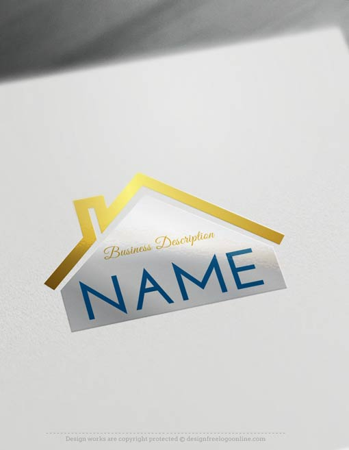 Create A Logo Free House Estate Logo Templates
