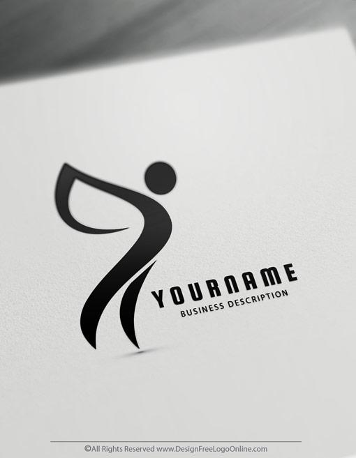 Black Human Logo Maker Online