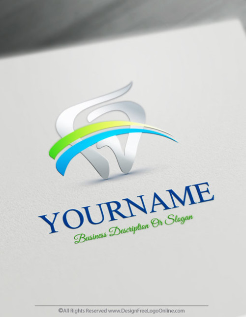 design a dentist logo instantly