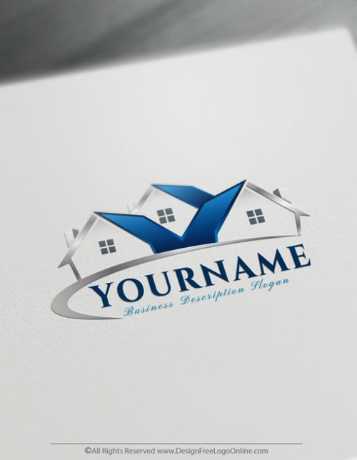 Design Your Own logo ideas with Free Real-Estate Logo Maker. Instantly online create as many cool house logo ideas as you need free.
