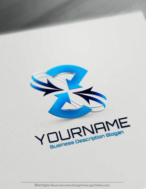 Create your own Blue Arrows logo