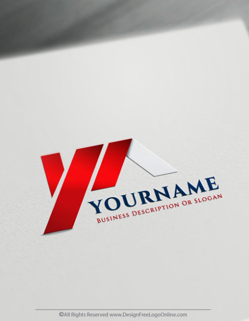 House Roofing Logo Design Ideas using the real estate icon maker
