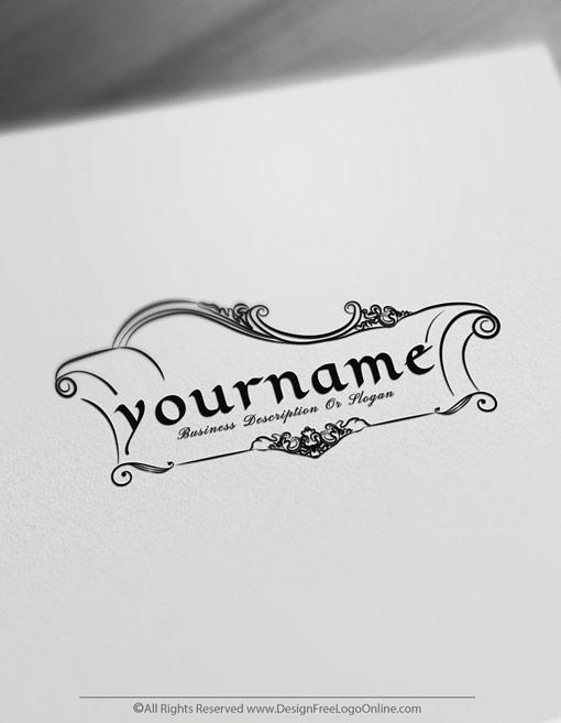 Create Interior Design Logo Furniture Logo Templates
