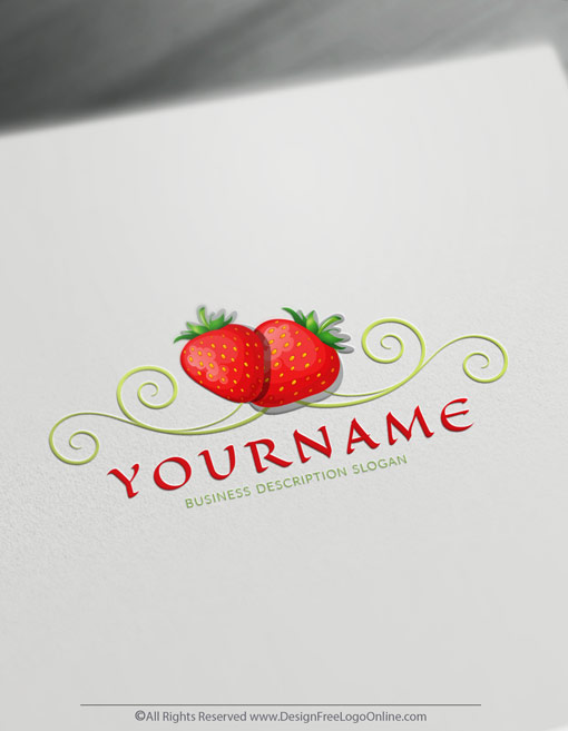 free fruit logo maker design your own fruits logo ideas free fruit logo maker design your own