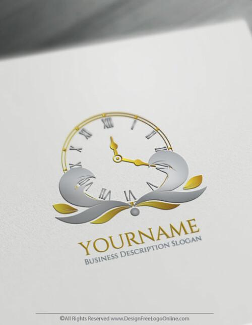 Time Logo Makin Done Online With Free Vintage Logo Maker