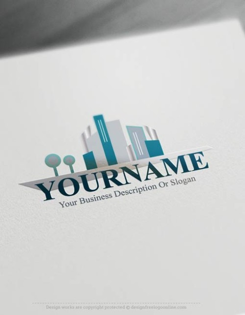 00385-Free-Logo-Maker-urban-city-Logo-Templates