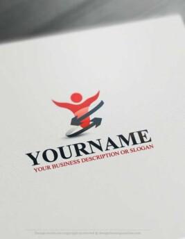 00388-Free-LogoMaker-power-human-LogoTemplates