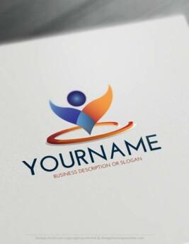 00395-Free-LogoMaker-man-grow-LogoTemplate
