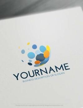 00398-Free-LogoMaker-Bubbles-LogoTemplate