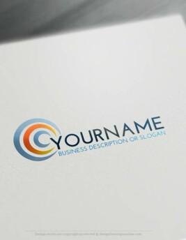 00400-Free-LogoMaker-Half-Moon-LogoTemplate