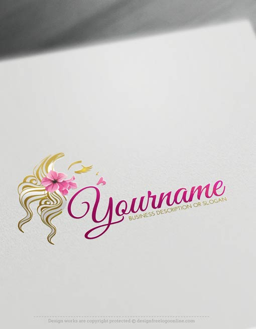 00404-Free-LogoMaker-woman-face-LogoTemplate