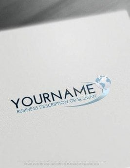 00412-Free-LogoMaker-globe-path-LogoTemplates