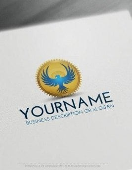 00416-Free-LogoMaker-eagle-stamp-LogoTemplates