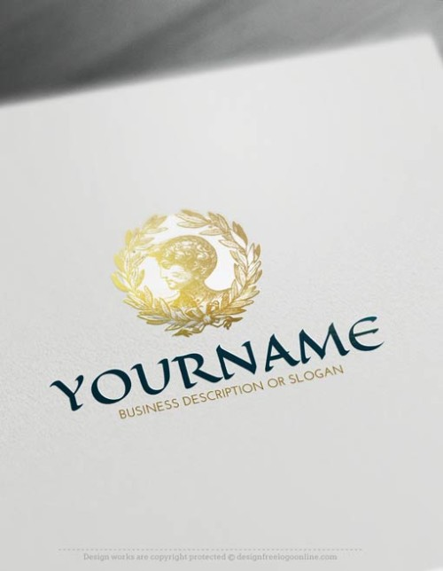 Create a Law Firm Logo Free - Greek Lord Logo Templates