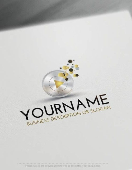 00419-Free-LogoMaker-play-music-LogoTemplates