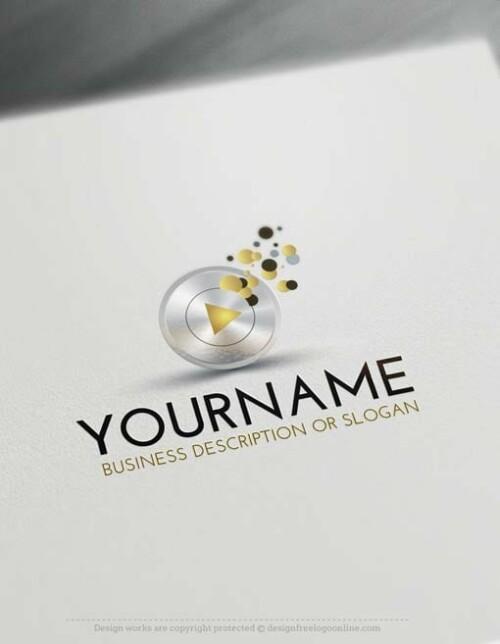 00419-Free-LogoMaker-play-music-LogoTemplates