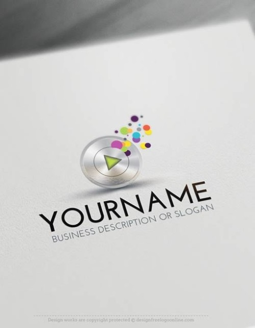 00419-Free-LogoMakerplay-music-LogoTemplates