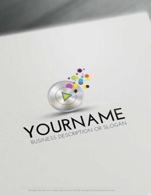 00419-Free-LogoMakerplay-music-LogoTemplates