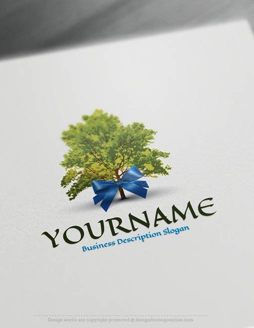 00423-Free-Logo-Maker-tree-gift-LogoTemplates