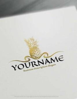 00424-Free-LogoMaker-Pineapple-LogoTemplates