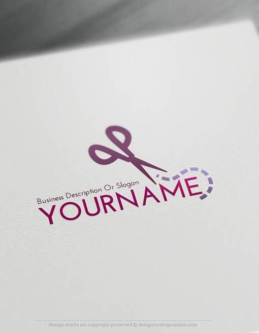 00426-Free-Logo-Maker-Scissors-LogoTemplate