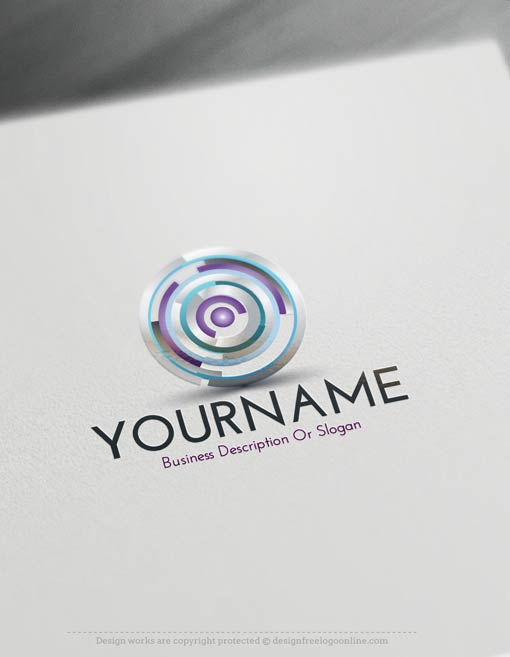 Focus Logo Template