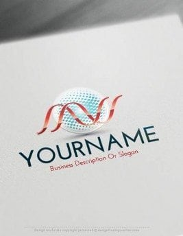 00430-Free-Logo-Maker-Science-LogoTemplate