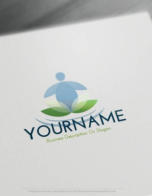 00431-Free-Logo-Maker-Yoga-LogoTemplate