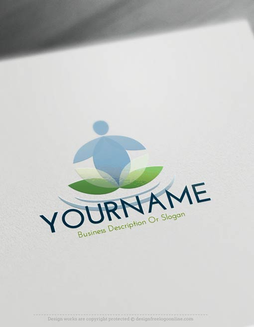 00431-Free-Logo-Maker-Yoga-LogoTemplate