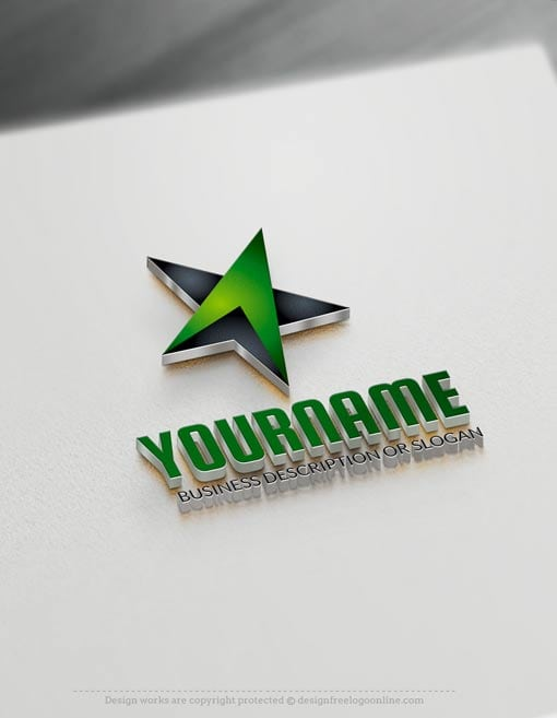 Best 3d logo designs free logo maker Online 3d design maker