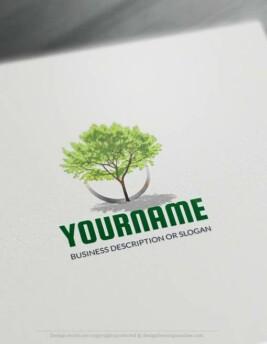 00439-Free-Logo-Maker-green-tree-LogoTemplate