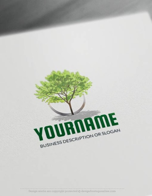 00439-Free-Logo-Maker-green-tree-LogoTemplate