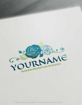 00440-Free-Logo-Maker-rose-LogoTemplate