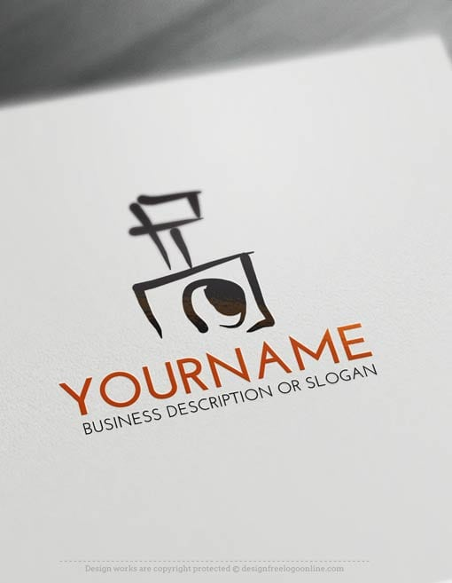 Free Logo Maker – Camera Logo Template
