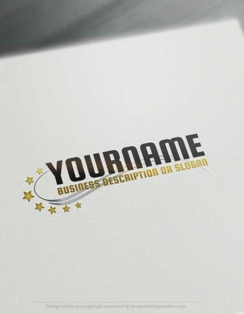 00453-Free-Logo-Maker-stars-LogoTemplate