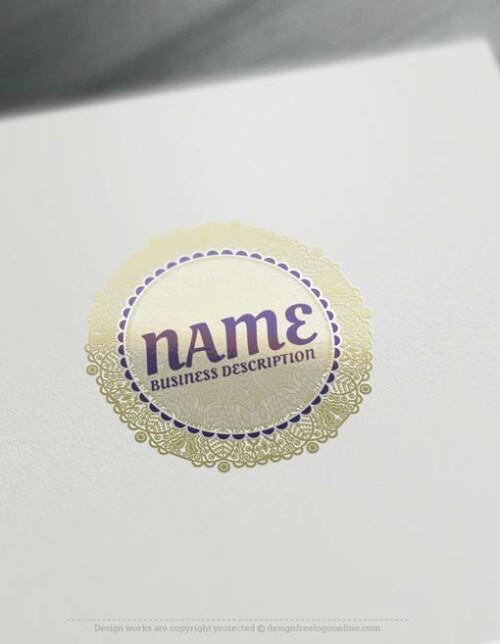 00458-Free-Logo-Maker-Lace-LogoTemplate