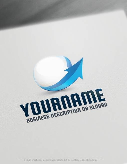 00464-Free-Logo-Maker-3d-arrow-LogoTemplates
